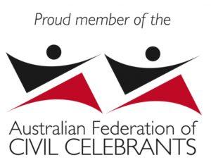Proud member of the Australian Federation of Civil Celebrants
